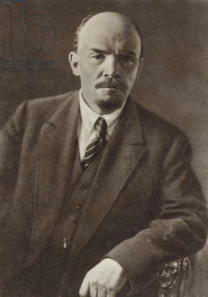 Lenin, Moscow, July 1920 (b/w photo)