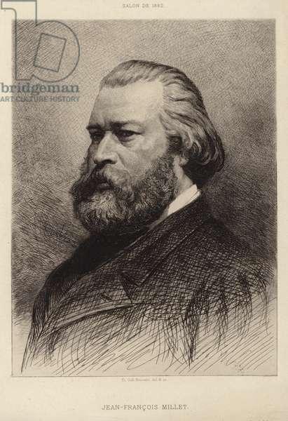 Jean Francois Millet (engraving)