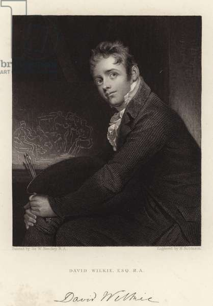 David Wilkie, Esquire, R A (engraving)