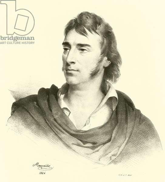 Antoine-Jean Gros, portrait (engraving)