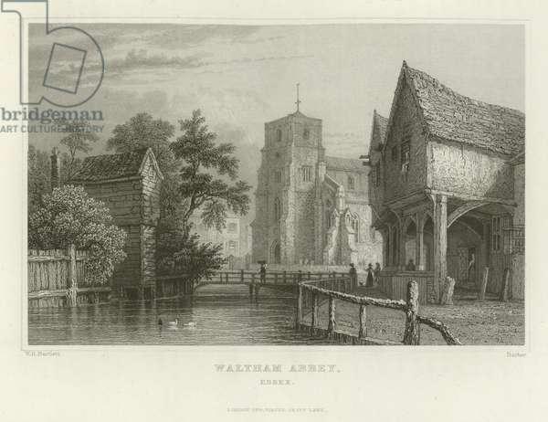 Waltham Abbey, Essex (engraving)