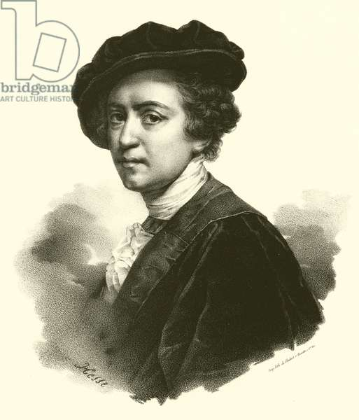 Sir Joshua Reynolds, portrait (engraving)