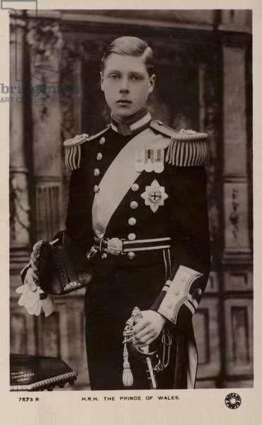 Edward VIII (b/w photo)