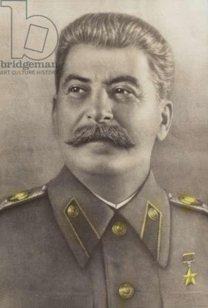 Stalin (coloured photo)