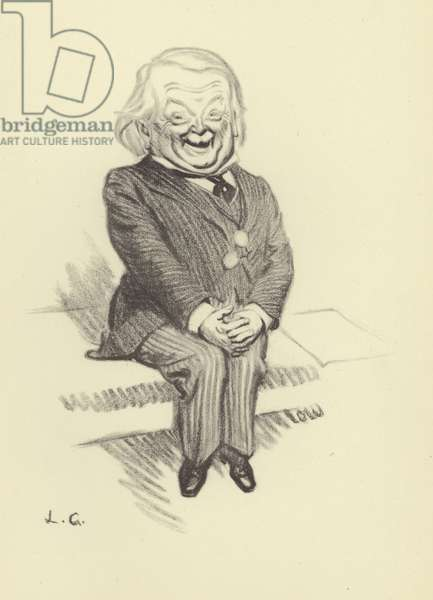 David Lloyd George (litho)