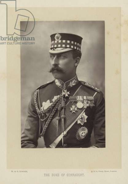 The Duke of Connaught (b/w photo)
