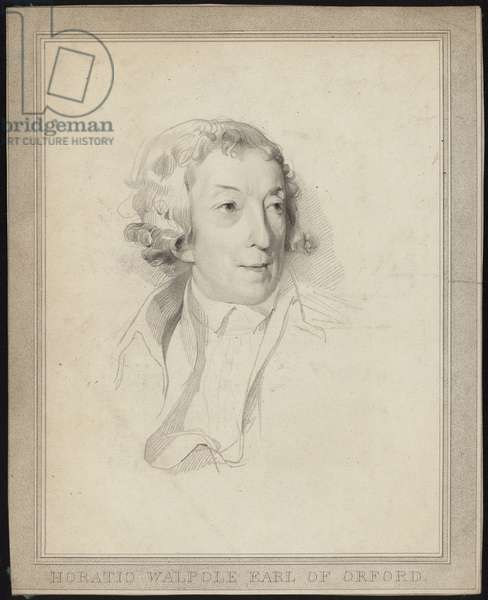 Portrait of Horace Walpole (engraving)