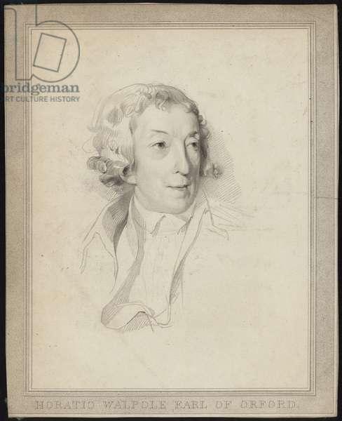 Portrait of Horace Walpole (engraving)