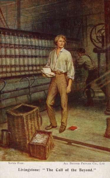 David Livingstone (colour litho)