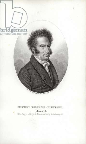Michel Eugene Chevreul (engraving)