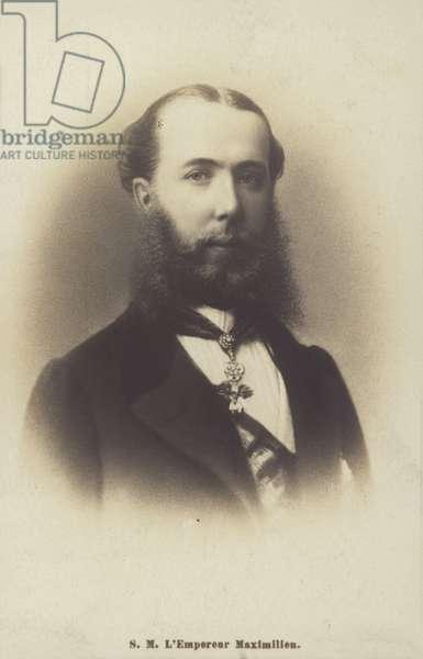 Maximilian I (b/w photo)