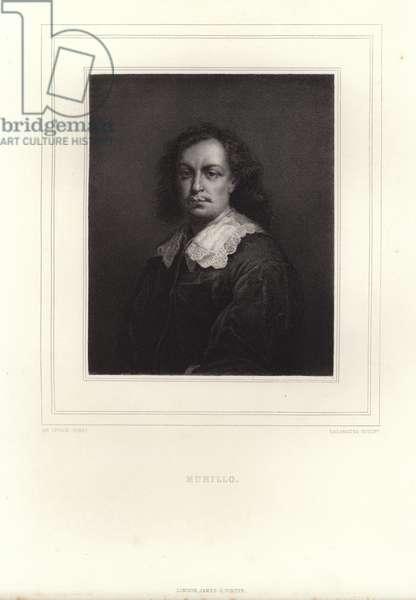 Bartolome Esteban Murillo (engraving)