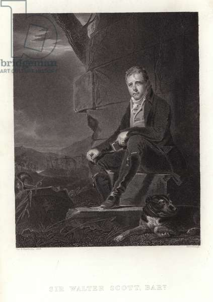 Sir Walter Scott (engraving)
