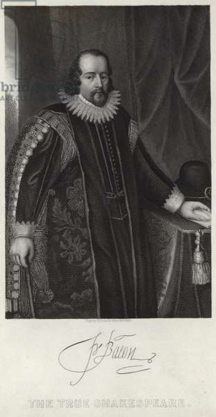 Portrait of Francis Bacon (engraving)