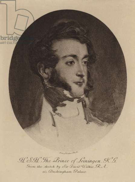 The Prince of Leiningen (gravure)