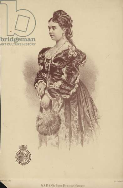 Victoria, Princess Royal (litho)