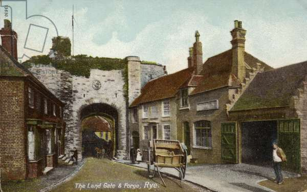 The Land Gate and Forge in Rye (photo)