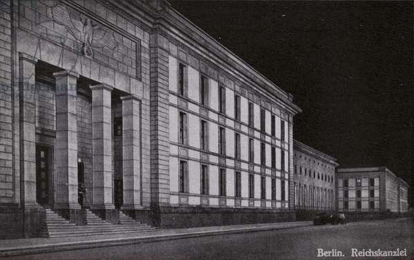 Reich Chancellery, Berlin (b/w photo)