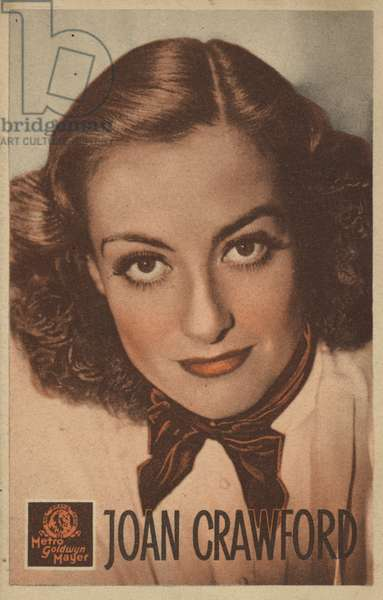 Joan Crawford (b/w photo)