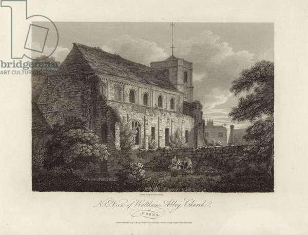 Waltham Abbey Church (engraving)