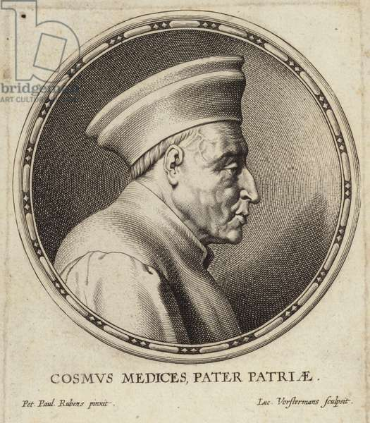 Portrait of Cosimo de' Medici (engraving)