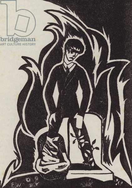 Youth (woodcut)