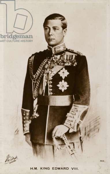Edward VIII (litho)