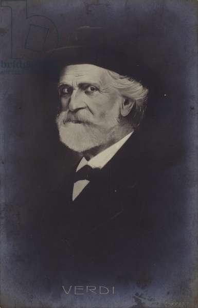Portrait of Giuseppe Verdi (litho)