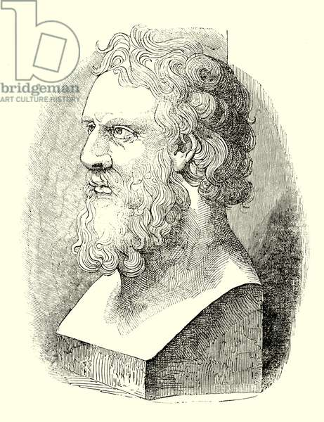 Bust of Plato (engraving)