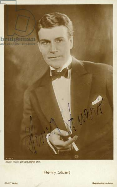 Henry Stuart (b/w photo)