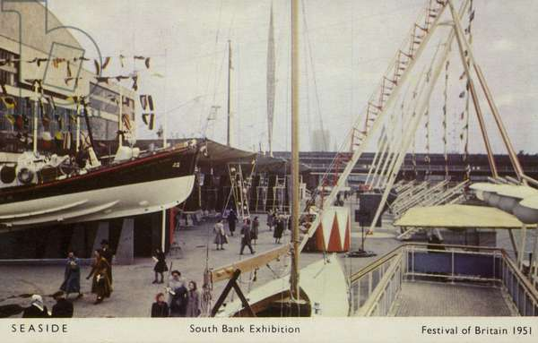 Seaside, South Bank Exhibition, Festival of Britain, London, 1951 (photo)