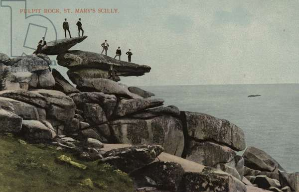 Pulpit Rock, St Mary's Scilly (photo)