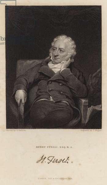Portrait of Henry Fuseli (engraving)