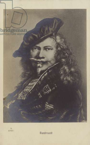 Rembrandt, Dutch painter and printmaker (litho)