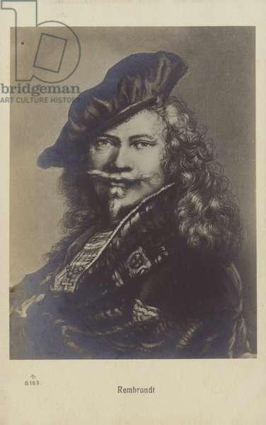 Rembrandt, Dutch painter and printmaker (litho)