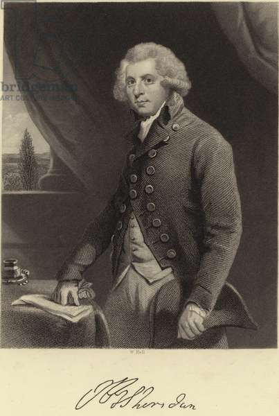 Richard Brinsley Sheridan (engraving)