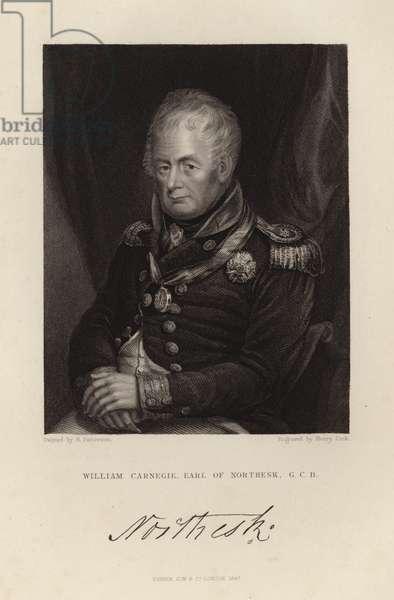 William Carnegie (engraving)