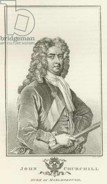 John Churchill, Duke of Marlborough (engraving)