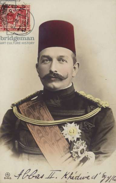 Abbas II (coloured photo)