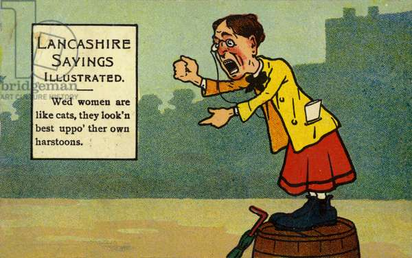 Lancashire Sayings Illustrated (colour litho)
