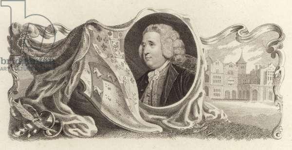 Henry Fox, 1st Baron Holland, British politician (engraving)