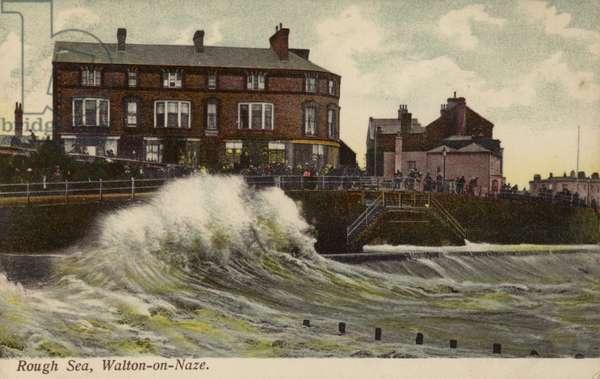 Rough Sea, Walton-on-Naze (photo)