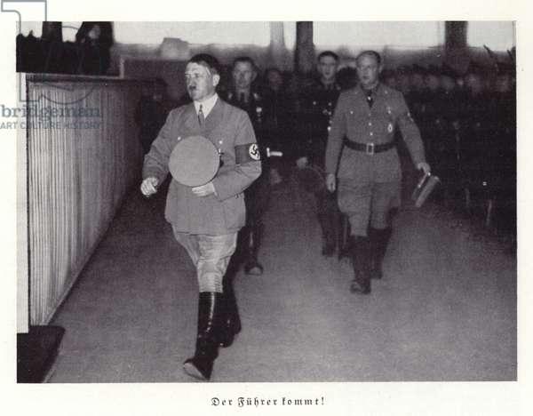 Adolf Hitler, Nuremberg, 1936 (b/w photo)
