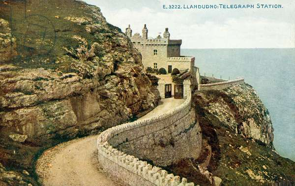 Llandudno, Telegraph Station (colour photo)