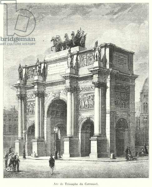 Arc de Triomphe du Carrousel (engraving)
