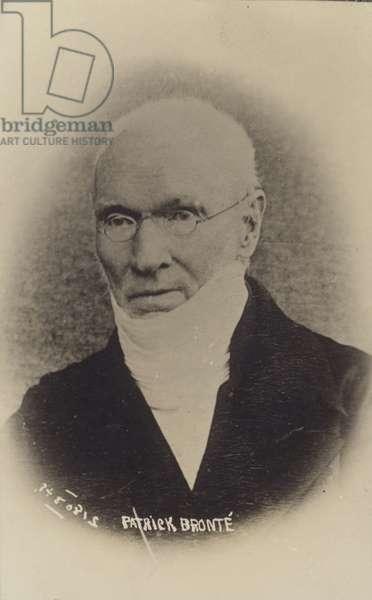 Patrick Bronte (1777-1861), Irish-born English curate and poet (b/w photo)