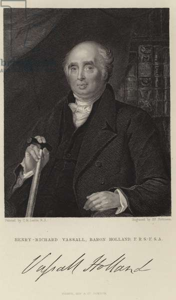 Henry Richard Fox (engraving)