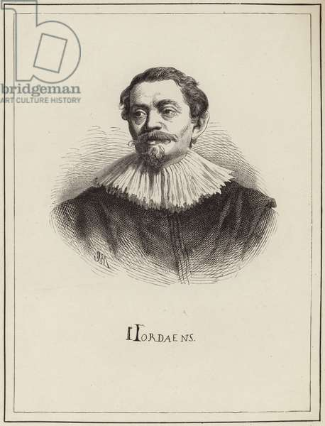 Portrait of Jacob Jordaens (engraving)