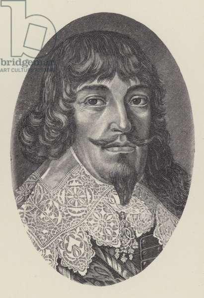 Bernard of Saxe-Weimar, German general of the Thirty Years War (litho)