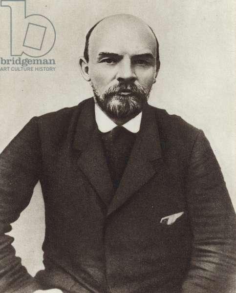 Lenin in Zakopane, Poland, August 1914 (b/w photo)